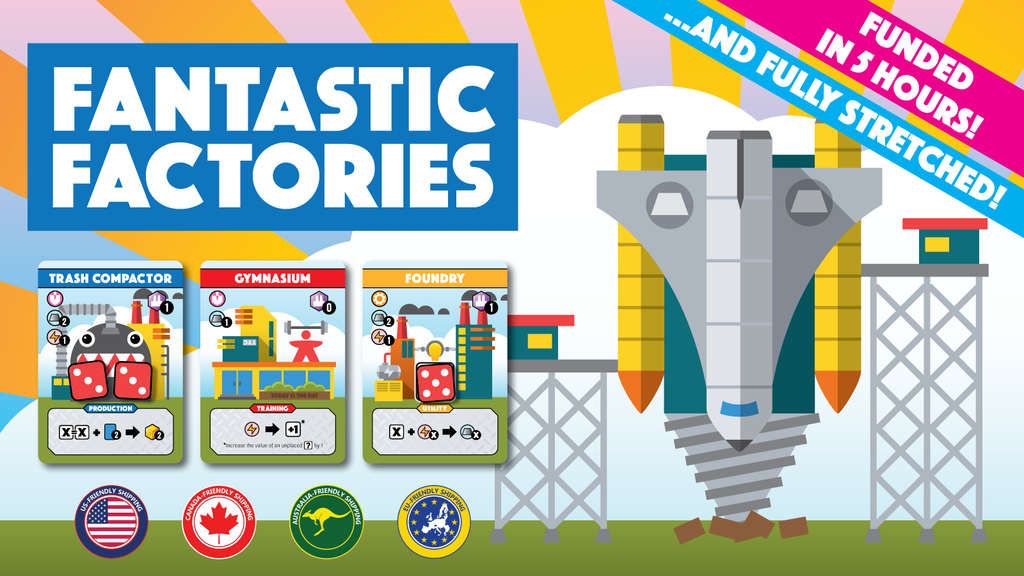 Fantastic Factories: A Dice Placement Engine Building Game project video thumbnail