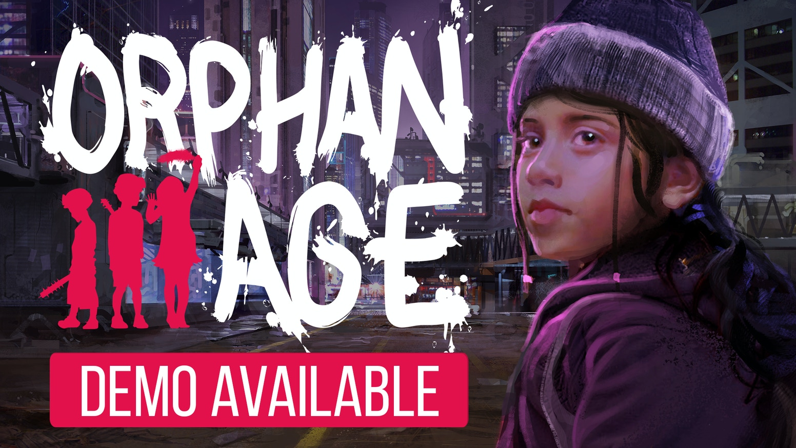 Orphan Age is a cyberpunk life sim game where you play as the children left behind. Early access for PC/Mac/Linux scheduled for this winter!