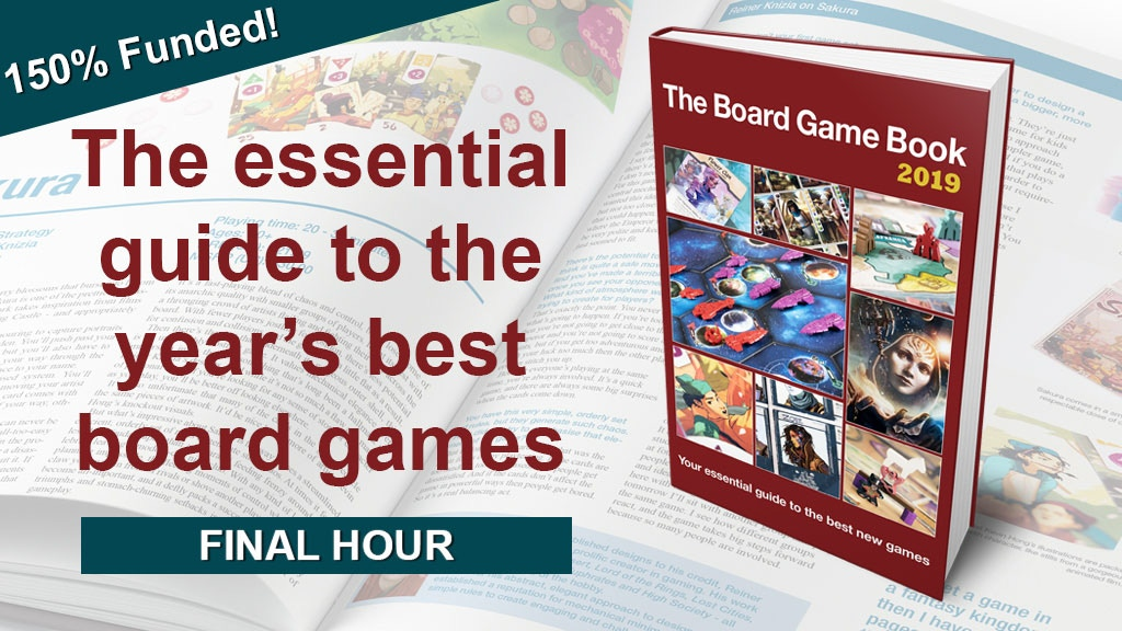 The Board Game Book | Explore the year's greatest games project video thumbnail