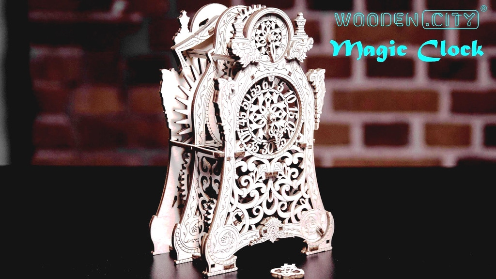 Magic Clock Collection by Wooden.City: Create your own Time! project video thumbnail
