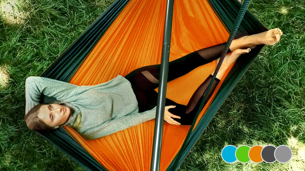 SkyFloat | The first full-size & foldable hammock chair project video thumbnail