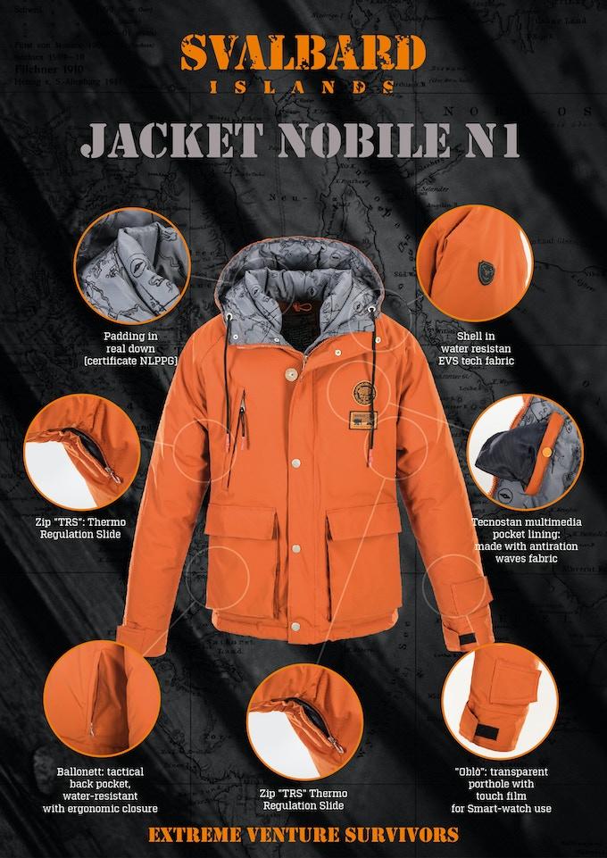 Features Nobile N1 Jacket
