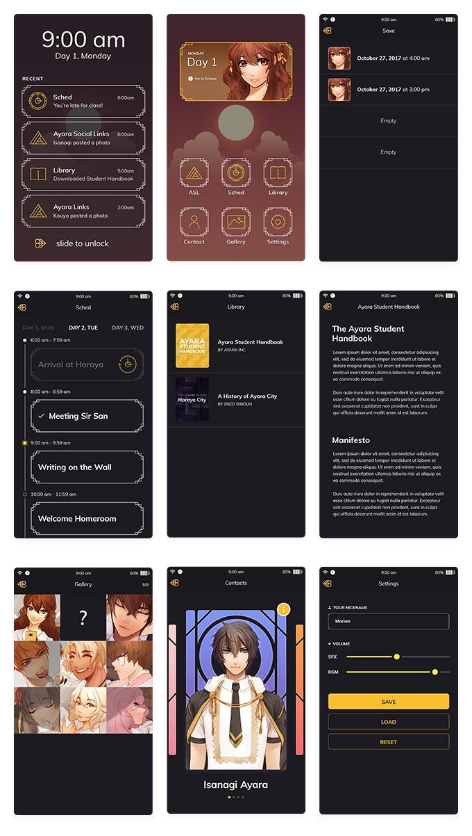 Golden Hour - A Mobile Otome Visual Novel by Matchaa Studio