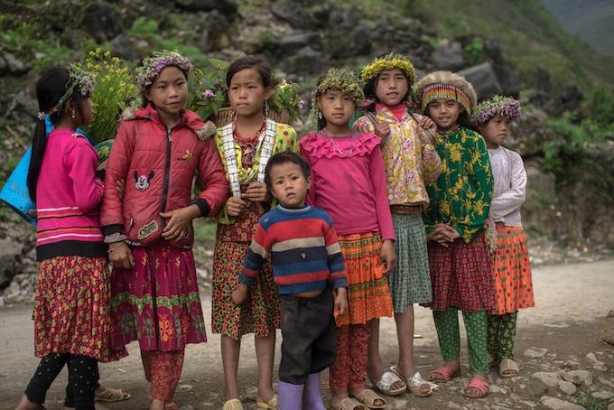 Ha Giang mountain girls