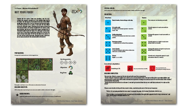 EXO - Mankind Reborn Board Game by Plast Craft Games » Crossover