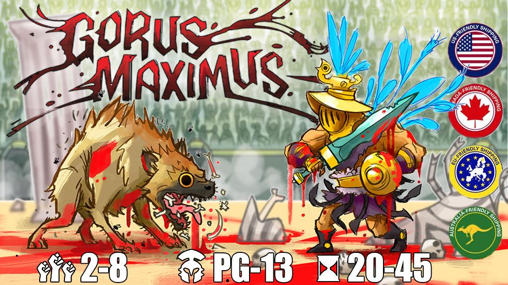 Gorus Maximus - A trick-taking game of gladiatorial combat!