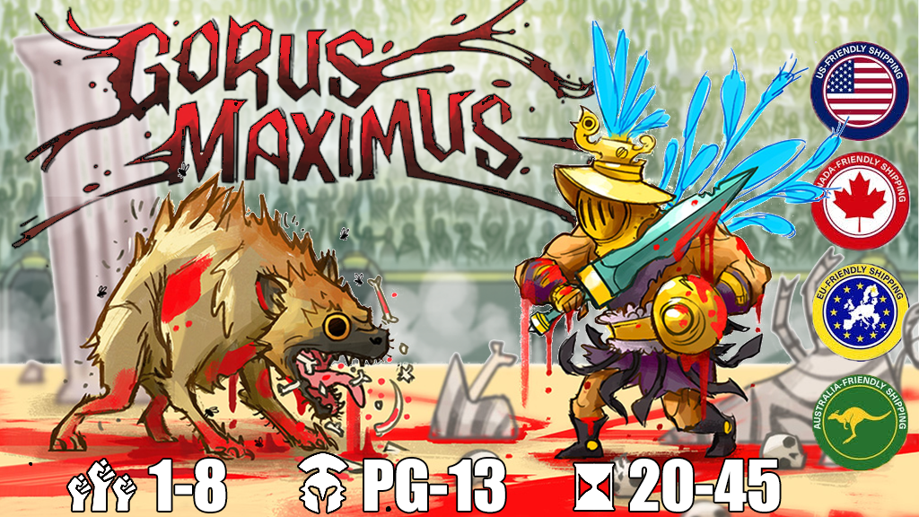 Gorus Maximus - A trick-taking game of gladiatorial combat! project video thumbnail