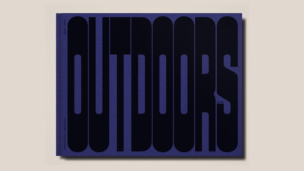 OUTDOORS - Aryz book project video thumbnail