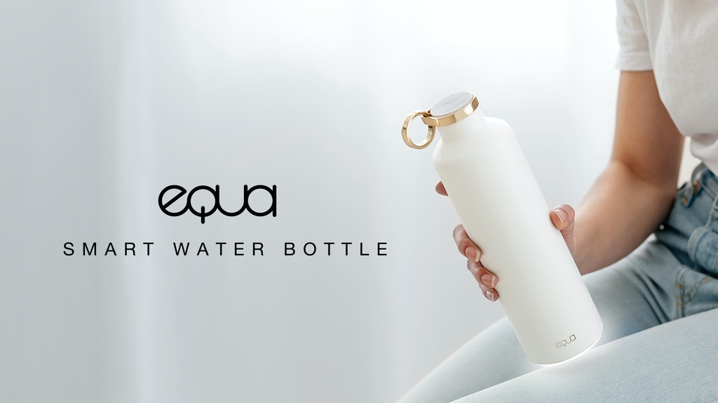 EQUA Smart Water Bottle: meet the future of hydration