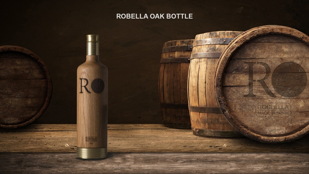 Roblella: Premium Oak Bottle with removable base. project video thumbnail