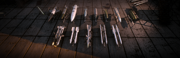 The armaments you carry into battle will greatly affect how you fight on your mission.