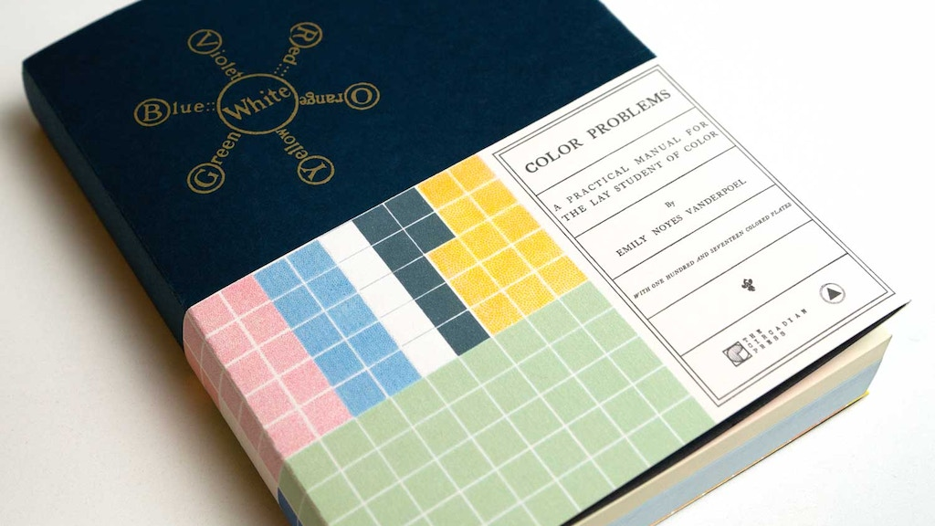 Color Problems - A Book by Emily Noyes Vanderpoel project video thumbnail