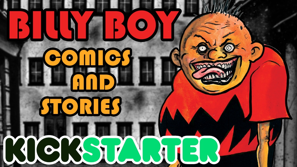 Billy Boy Comics and Stories #1-3 Mini-Series project video thumbnail