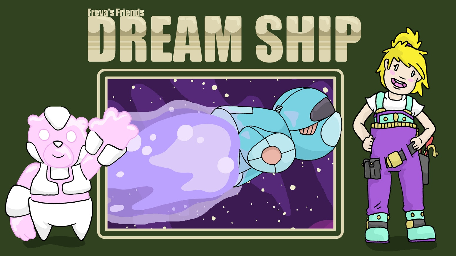 Freya's Friends: Dream Ship Children's Book