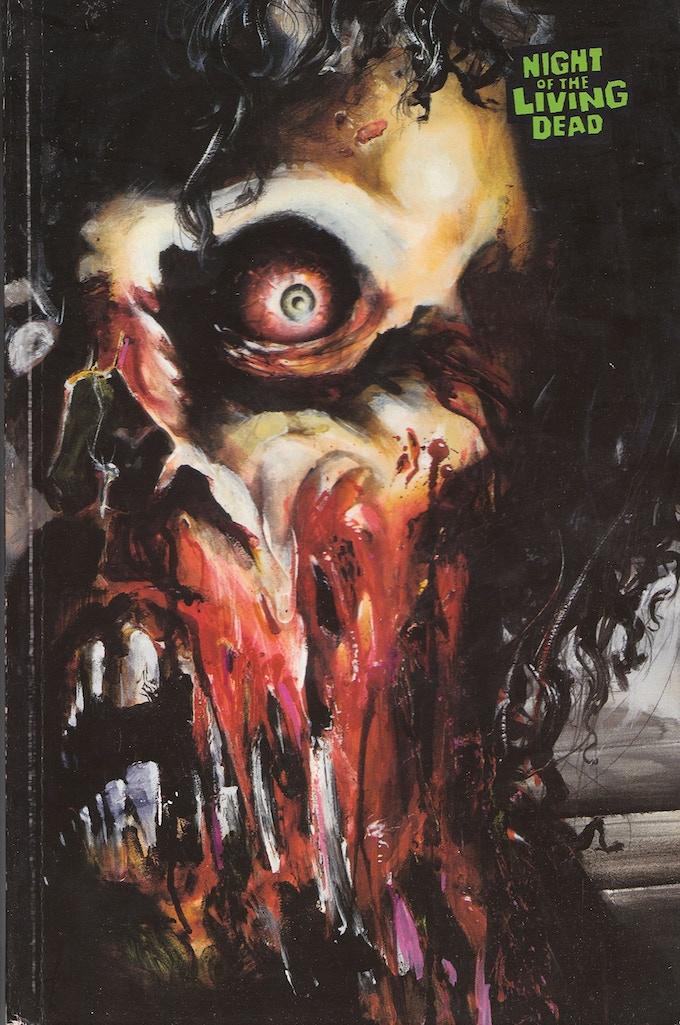 Original cover of FantaCo's NOTLD #2 by Carlos Kastro