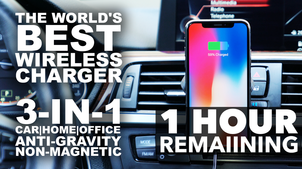 The World's Best WIRELESS CHARGER | HoverCharge  by