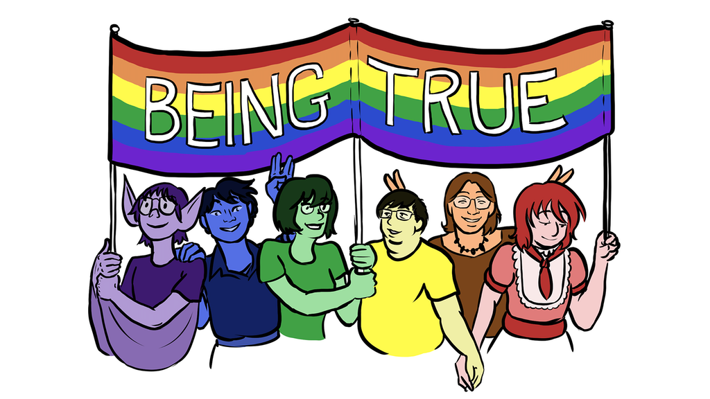 Being True LGBTQ Comics Anthology project video thumbnail