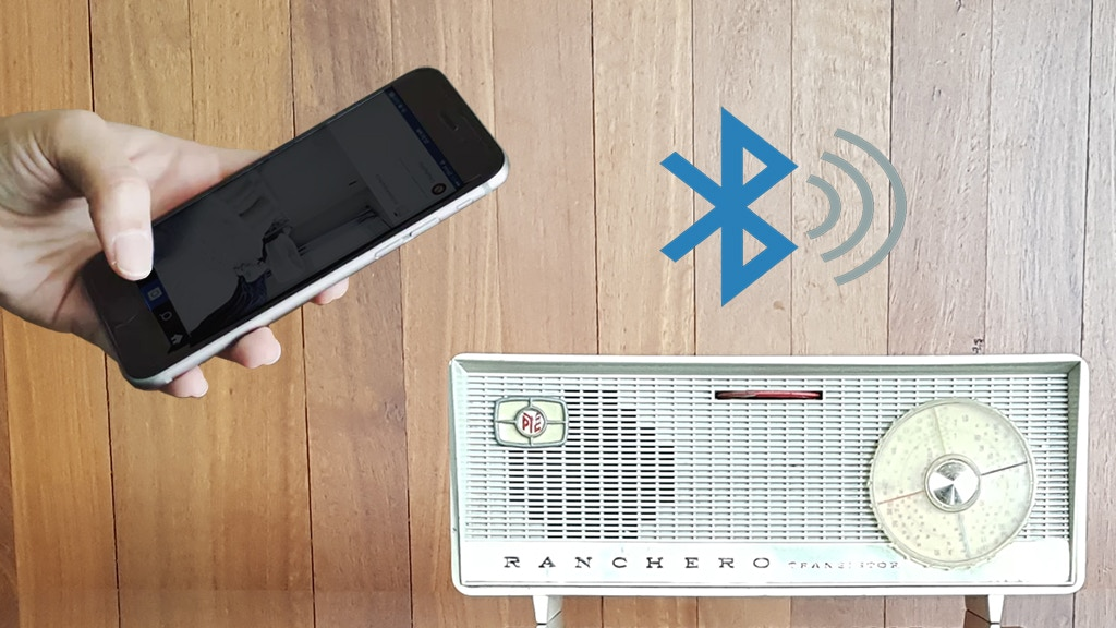 Vintage Bluetooth Speakers - Music Upcycled by Boe project video thumbnail