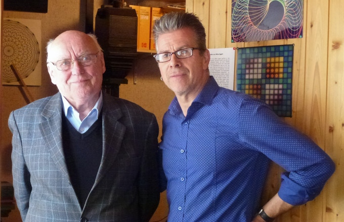 Im Duo gegen den 'Blinden Fleck der Fotogeschichte': Alfons Eggert (li.) und Stephan Sagurna (re.)