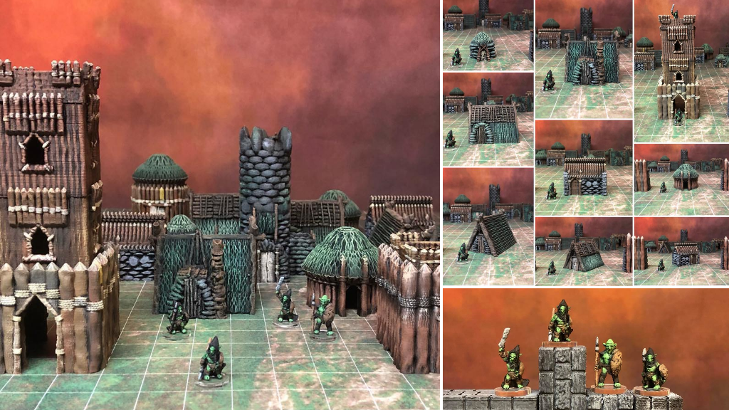 Kyn Finvara: 3d Printable Goblin Village project video thumbnail