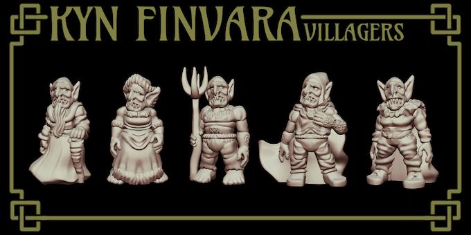 The base Kyn Finvara villagers.