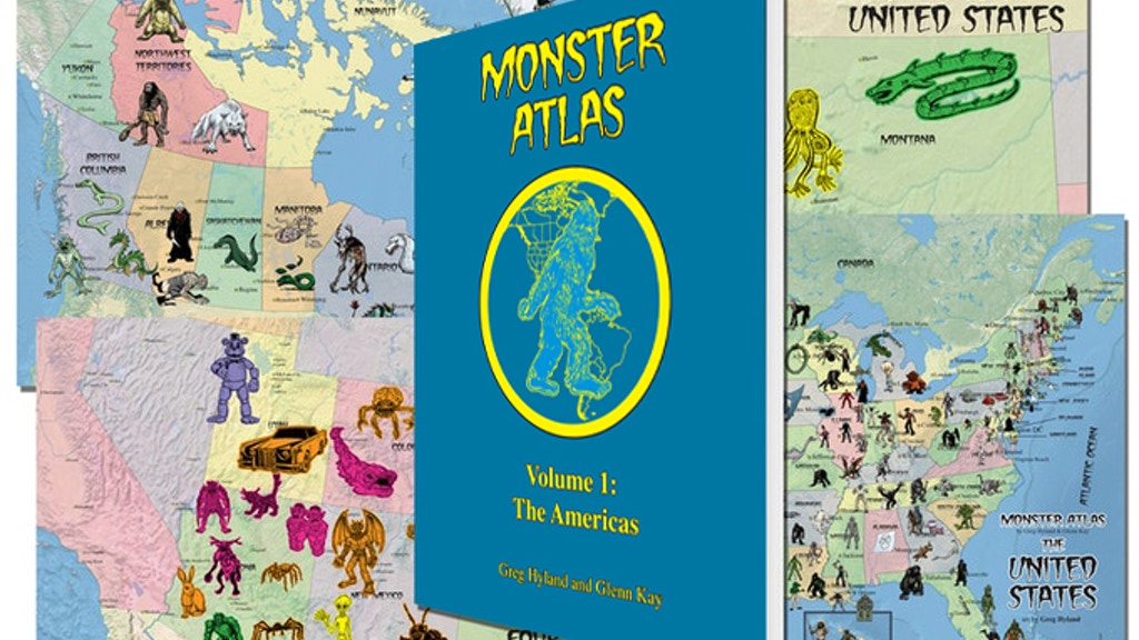 THE MONSTER ATLAS project video thumbnail