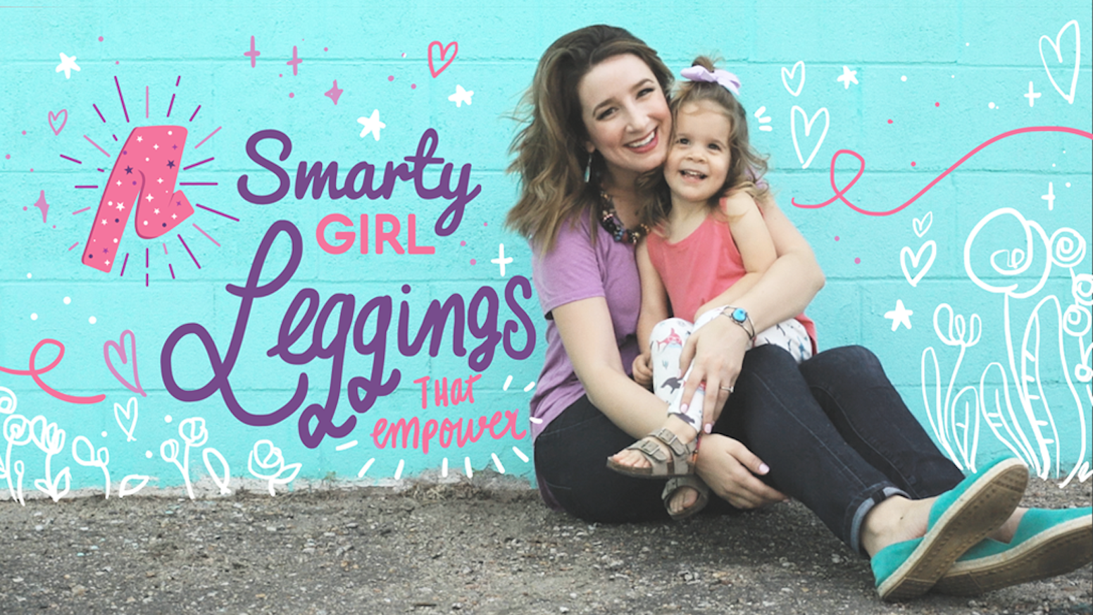 Smarty Girl's newest collection of clever clothing encourages curiosity. Because our daughters deserve more than hearts + flowers!