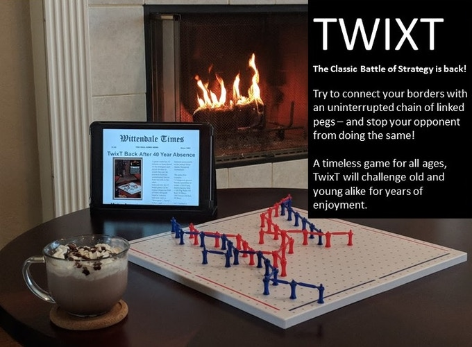 TwixT Strategy Game