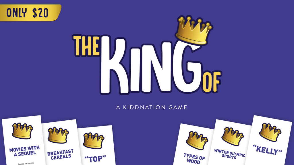 The King Of - A Party Card Game for Everyone project video thumbnail