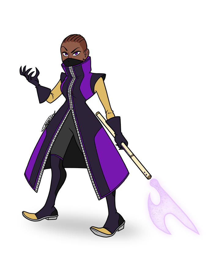 Character Art for the Dark by Shannon Manor, Auxiliary Concern.