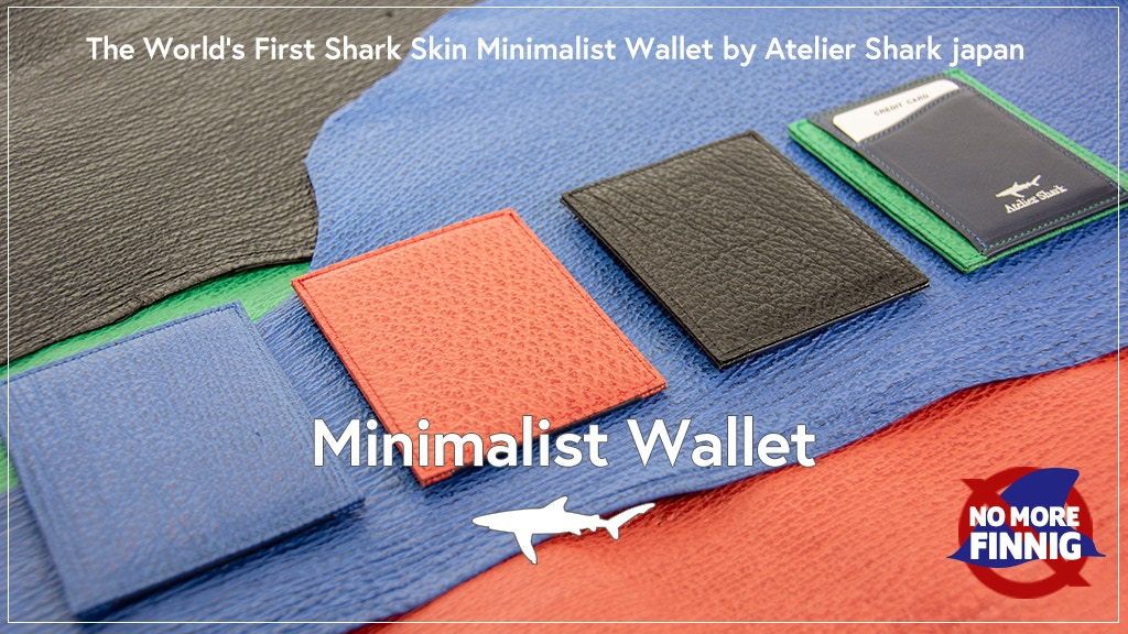 ~鮫風~ Shark Skin Minimalist Wallet - 100% Made in Japan