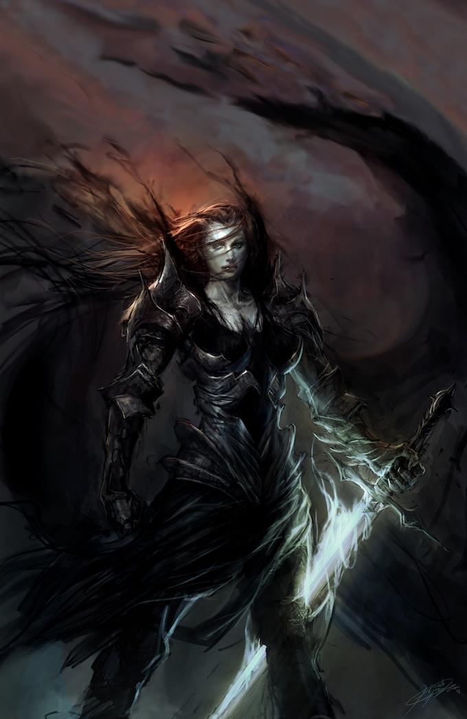 Essessa: The Fallen #1 Hyoung Virgin Variant