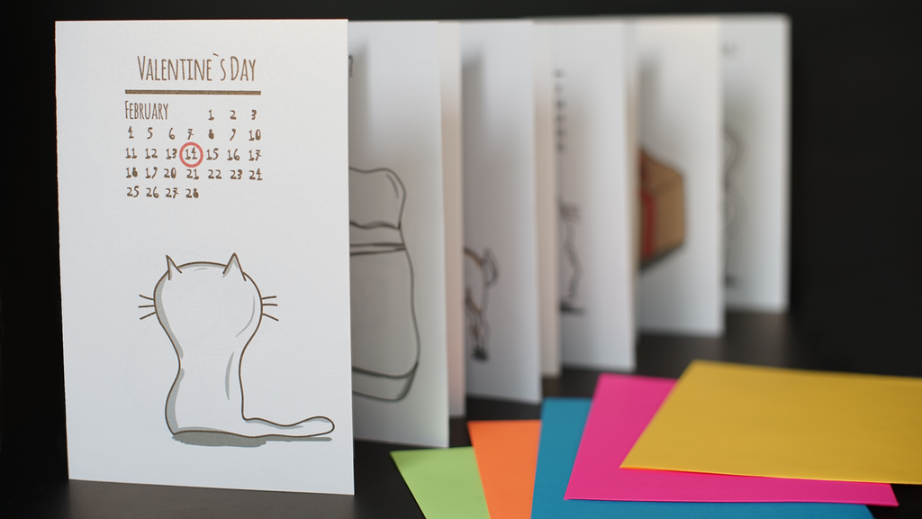Cat Inspired Greeting Cards