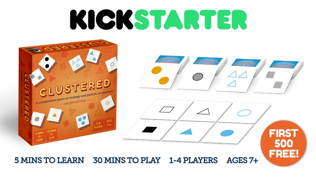 Clustered: 2nd edition - A Strategic Card Game