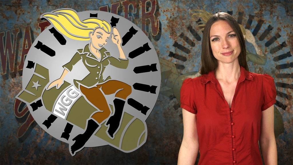 Offical Wargamer Girl Enamel Pin project video thumbnail