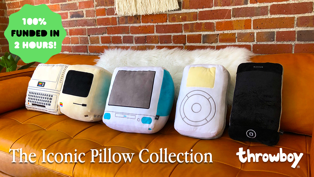 The Iconic Pillow Collection by Throwboy project video thumbnail