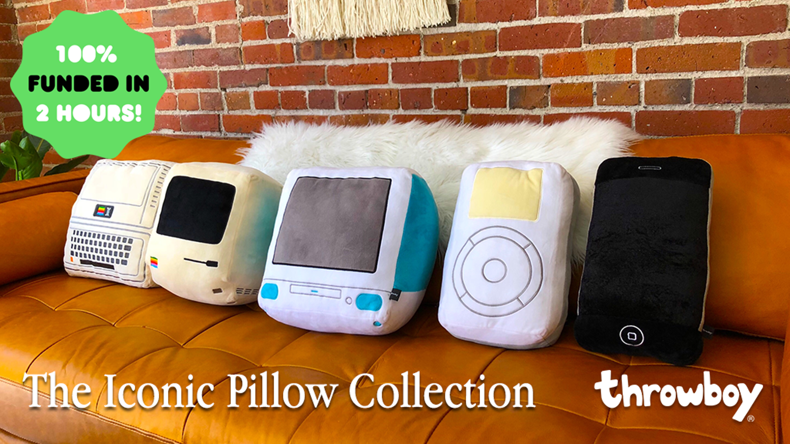 A cuddly tribute to the tech that changed our lives.