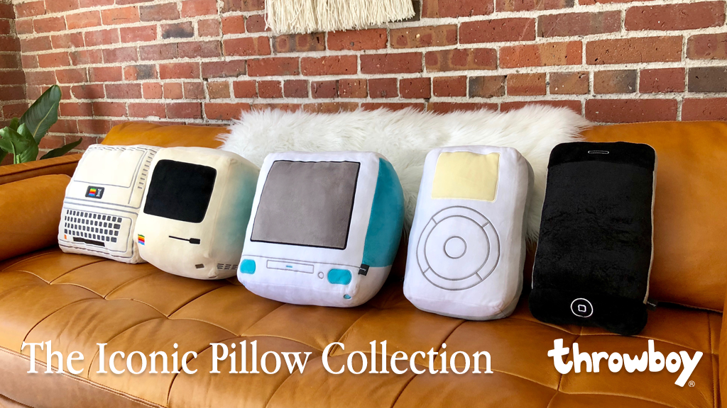 The Iconic Pillow Collection by Throwboy