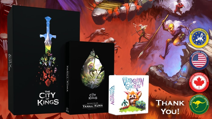 The City of Kings: Ancient Allies and Vadoran Gardens is the top crowdfunding project launched today. The City of Kings: Ancient Allies and Vadoran Gardens raised over $361739 from 4186 backers. Other top projects include Confrontation – Classic The legendary skirmish game, One Hell of a Week- An Adult Yuri Visual Novel, Joyfully Ever After Bible Study...