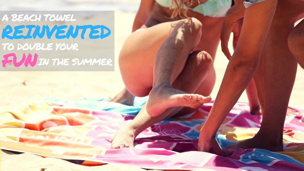 A Beach Towel Reinvented to Double Your Fun In the Summer project video thumbnail