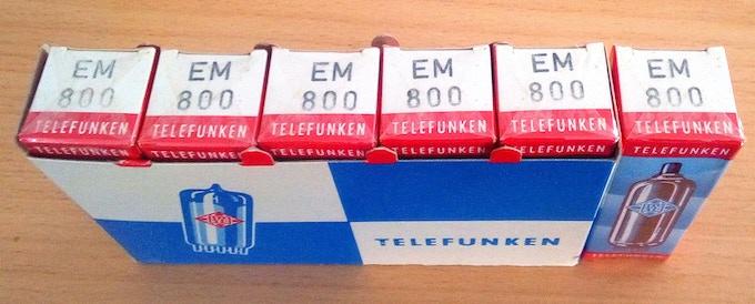 TELEFUNKEN NOS tubes