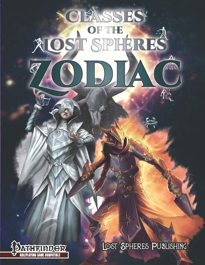 Classes of the Lost Spheres: Zodiac - Cover