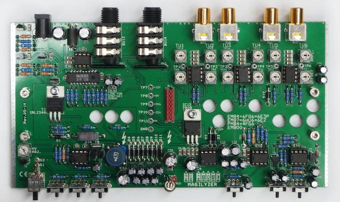 assembled main board