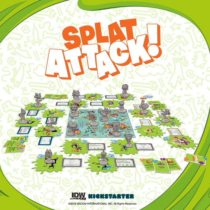 Nickelodeon's Splat Attack! by IDW Games — Kickstarter