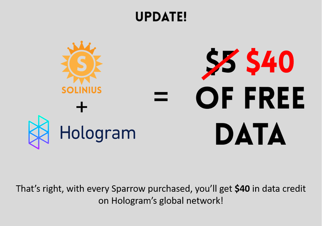 Solinius Sparrow: Cellular IoT with Global Connectivity by Solinius