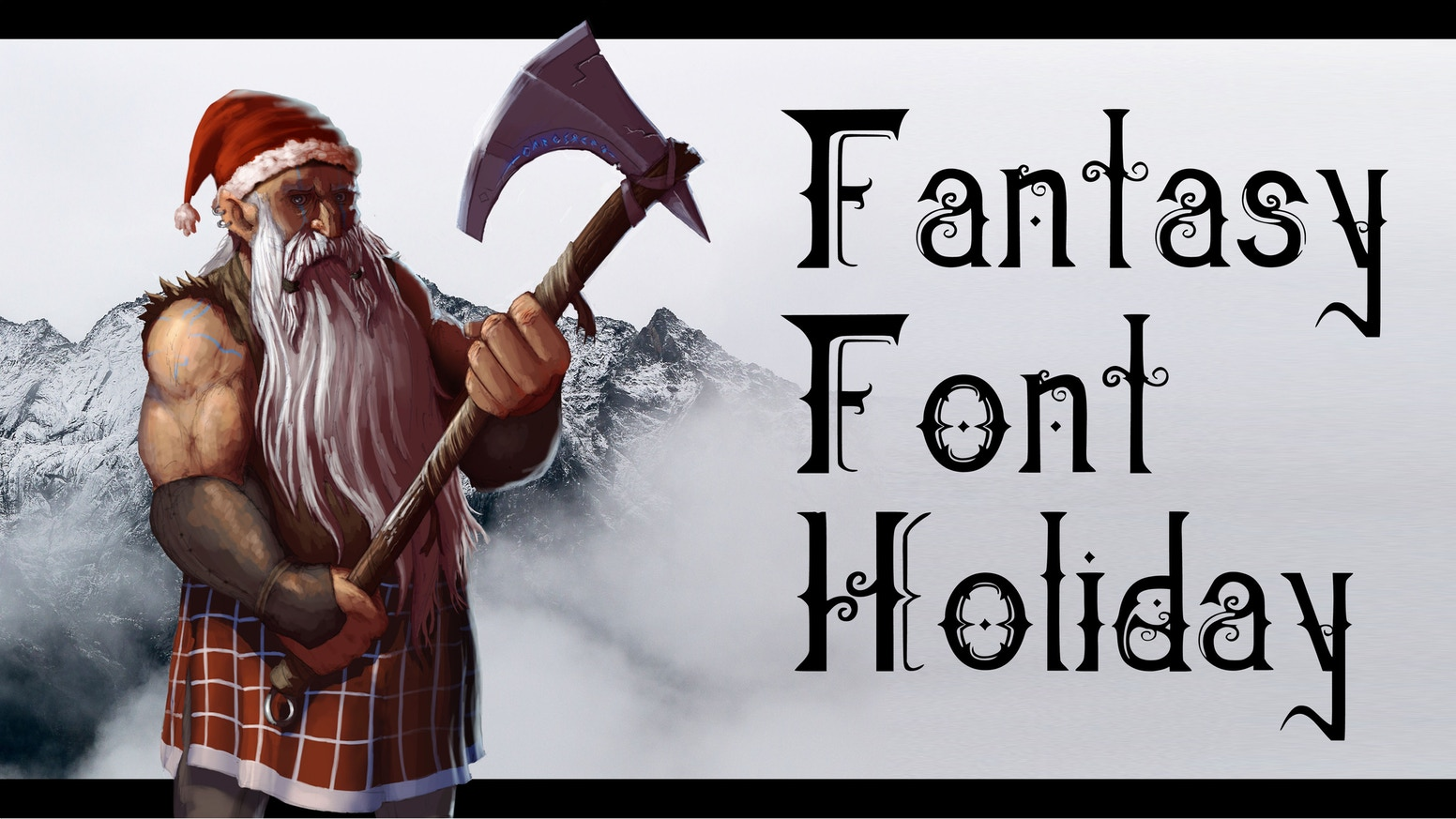A special font with more than 60 characters created to meet your festive fantasy needs. Get it before Christmas!
