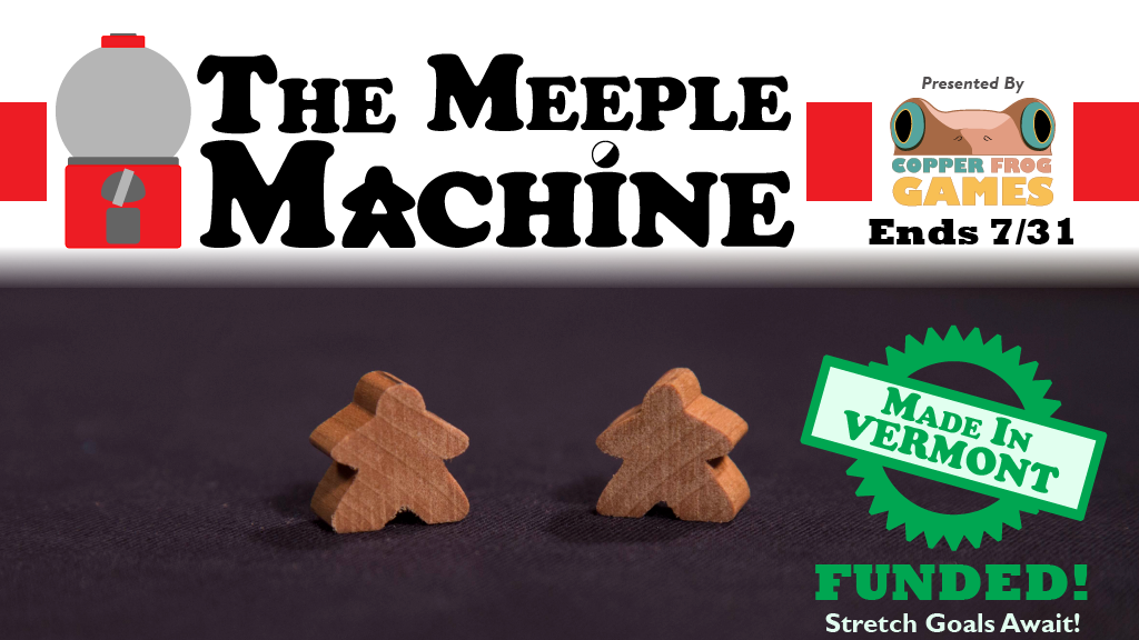 The Meeple Machine: Artisan-Crafted Hardwood Meeples project video thumbnail