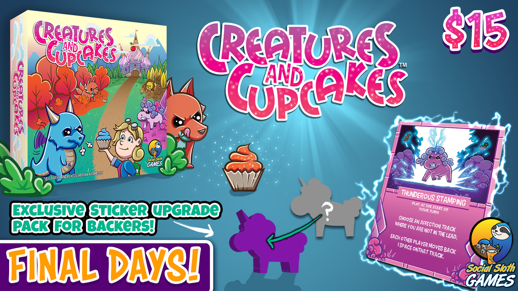 Creatures & Cupcakes project video thumbnail