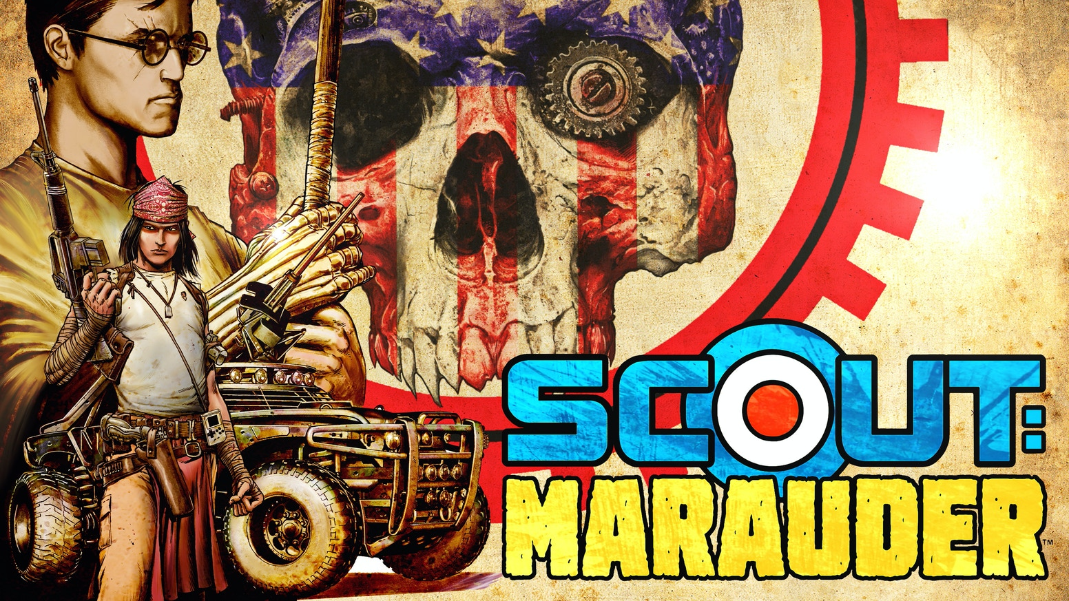 Timothy Truman & co-writer Benjamin Truman present Scout: Marauder, a new graphic novel set in the dystopian future of Timothy's legendary comics series. You can still pre-order the book, add-ons and other items by hitting the button below: