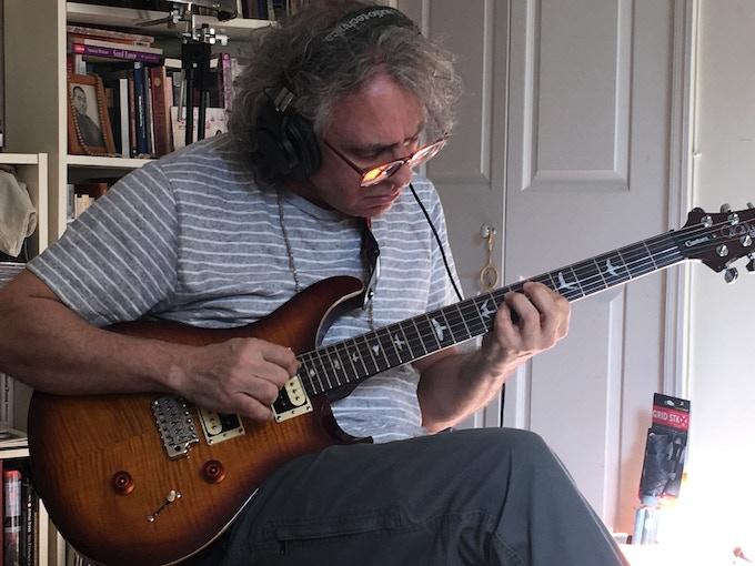Brad Stoller, electric guitar